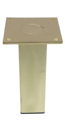 Belzburg Solid Brass Legs Satin Finish